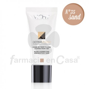 Vichy Dermablend maquillaje corrector 35 sand 30ml