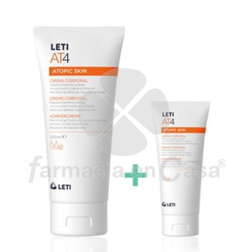 Leti At4 Crema Corporal Piel Atopica 200ml
