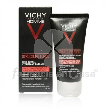 Vichy Homme Structure Force Tratamiento Global Antiedad 50ml