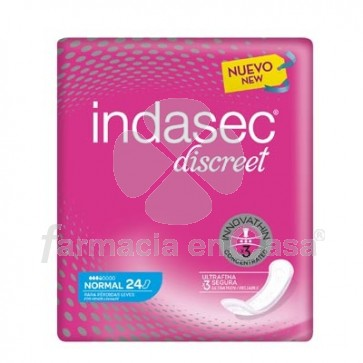 Indasec Discreet Normal 24 Uds