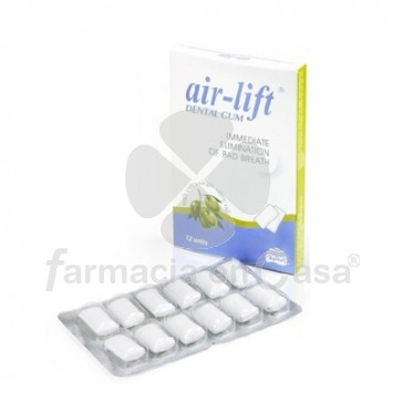 Air-Lift Buen Aliento Chicle Dental 12 Uds