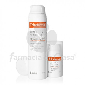 Thiomucase Crema anticelulitica-reductora kit duo 200+50ml