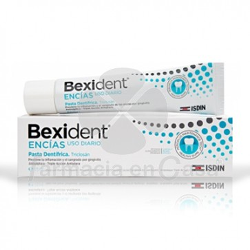 Bexident Encias gum pasta dental triclosan 75ml