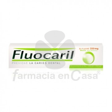Fluocaril Bi-Fluore 250mg Pasta Dental Sabor Menta 125ml