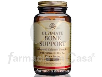 Solgar Ultimate bone support 120 comprimidos
