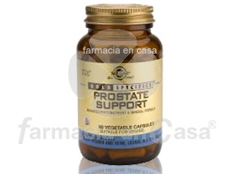 Solgar Gs prostate support 60 caps vegetales