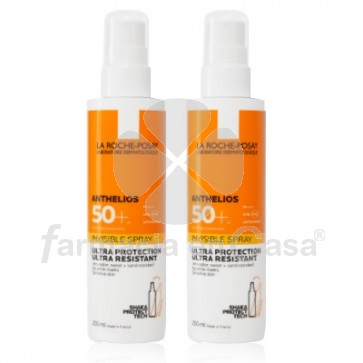 Anthelios XL 50+ Spray Invisible Duplo 2x200ml. La Roche Posay