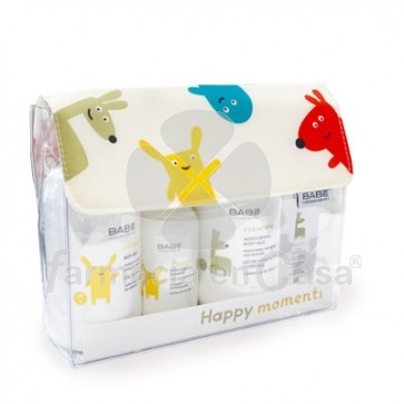 Babe Pediatrics Happy Moments Bolsa 4 Productos