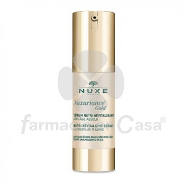 Nuxe Nuxuriance Gold Serum Nutri-Revitalizante Piel Seca 30ml