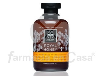 Apivita Royal honey gel de ducha cremoso aceites esenciales 300ml