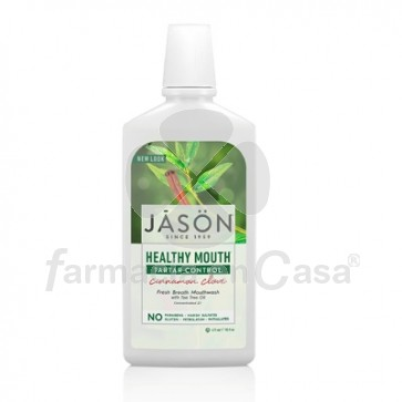 Jason Healthy mouth colutorio anticaries 473ml