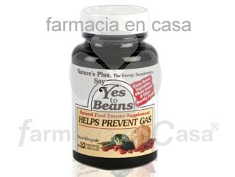 Nature's Plus Nature plus say yes to beans digestivo 60 perlas