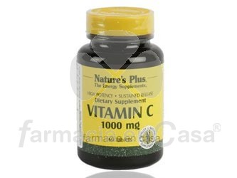 Nature's Plus Nature plus super vitamina c 1000mg 180 comprimidos