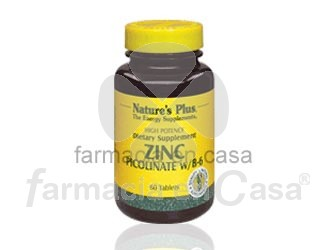 Nature plus zinc di-picolinate 120 comprimidos