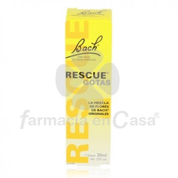 Flores de Bach - Rescue Gotas 20ml