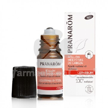 Pranarom Cepharom bio molestias de cabeza roll-on 5ml