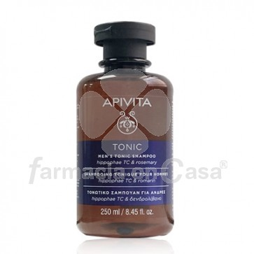 Apivita Men Tonic Champu Anticaida Tonificante Hombre 250ml
