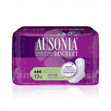 Ausonia Discreet normal compresa 12 uds