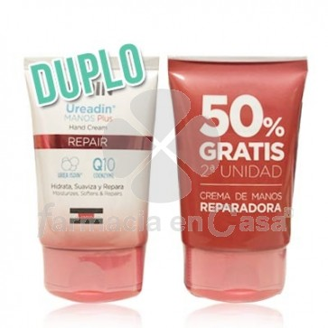 Ureadin Repair plus crema de manos reparadora duplo 2x50ml