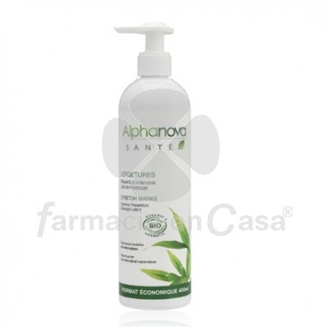 Alphanova Sante Leche de Masaje Anti-Estrias 400ml