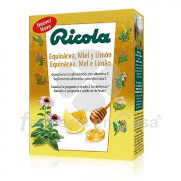 Ricola Equinacea Limon y Melisa defensas 14 pastillas