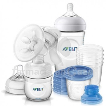 Avent Set Extractor de Leche Materna Manual
