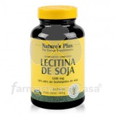 Nature's Plus Nature plus lecitina de soja 1200mg 90 perlas