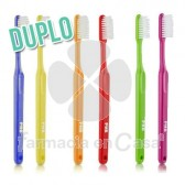 PHB Classic Cepillo Dental Adulto Medio Duplo 2 Uds