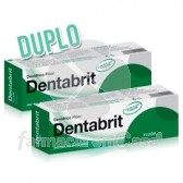 Dentabrit Pasta Dental Fluor Duplo 2x75ml