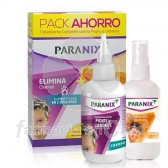 Paranix TTO Piojos y Liendres Champu 200ml + Protect Spray 100ml