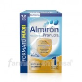 Almiron Advance 1 pronutra leche para lactantes 1,2kg