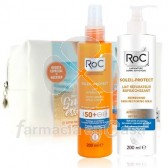Roc Soleil-Protect Leche Spf50 200ml+Leche Aftersun 200ml+Neceser