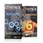 Control Preservativo Nature 24 Uds + Finissimo 6 Uds