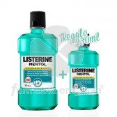 Listerine Mentol enjuague bucal 500ml+ 250ml