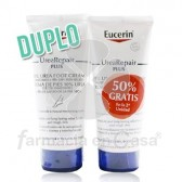 Eucerin Urea Repair Plus Crema de Pies Piel Seca Duplo 2x100ml