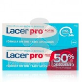 Lacer Pro Forte Crema Adhesiva Protesis Dentales Duplo 2x70gr