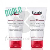 Eucerin Ph5 Crema de Manos Duplo 2x75 ml