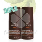 Nuxe Men desodorante roll-on proteccion 24h duplo 2x50ml