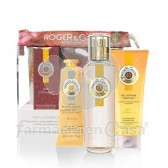 Roger Gallet Bois d orange perfume 30ml + cr manos 30ml +gel 50ml