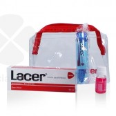 LACER PASTA DENTAL FLUOR 50ML + CEPILLO DE VIAJE + COLUTORIO 10ML