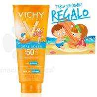 VICHY IDEAL SOLEIL SPF 50 LECHE NIÑOS 300ML + TABLA HINCHABLE