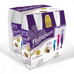 Pediasure Drink chocolate 4x200 ml 4 botes