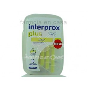 Dentaid Interprox cepillo plus mini 10 uds