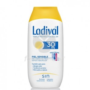 Ladival Piel Sensible Gel Crema Oil Free Spf30 200ml