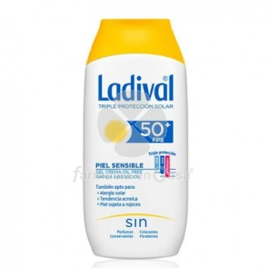 Ladival Piel Sensible Gel Crema Oil Free Spf50+ 200ml