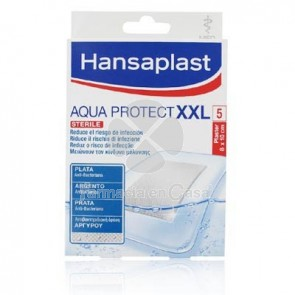 Hansaplast Aqua Protect XXL Apositos Plata Anti-Bacteriana 5 Uds