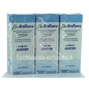 Bioralsuero neutro pack 3 x 200 ml
