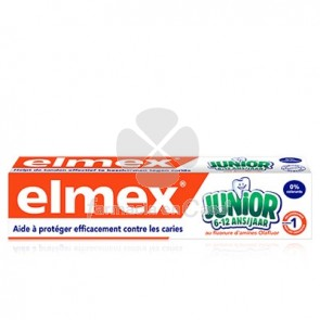 Elmex Pasta Dental Junior con Fluor 6-12 Años 75ml