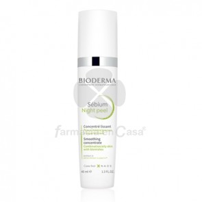 Bioderma Sebium Night Peel Concentrado Alisante 40ml