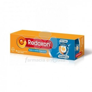 Redoxon Extra Defensas vitamina c y zinc 15 comp efervescentes